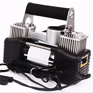 LPY-Bomba del inflador del neumático de coche del compresor de aire resistente de DC 12V 150PSI Volumen grande: Amazon.es: Deportes y aire libre