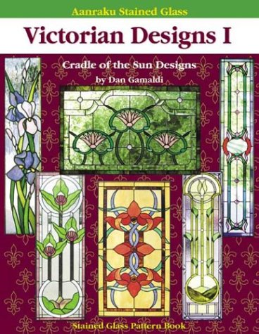 Aanraku Stained Glass Pattern Book Victorian Designs ()