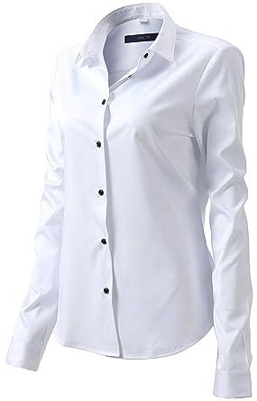 b42bcf42e748b Camisa Blusa Bambú Fibra Clásica Mujer