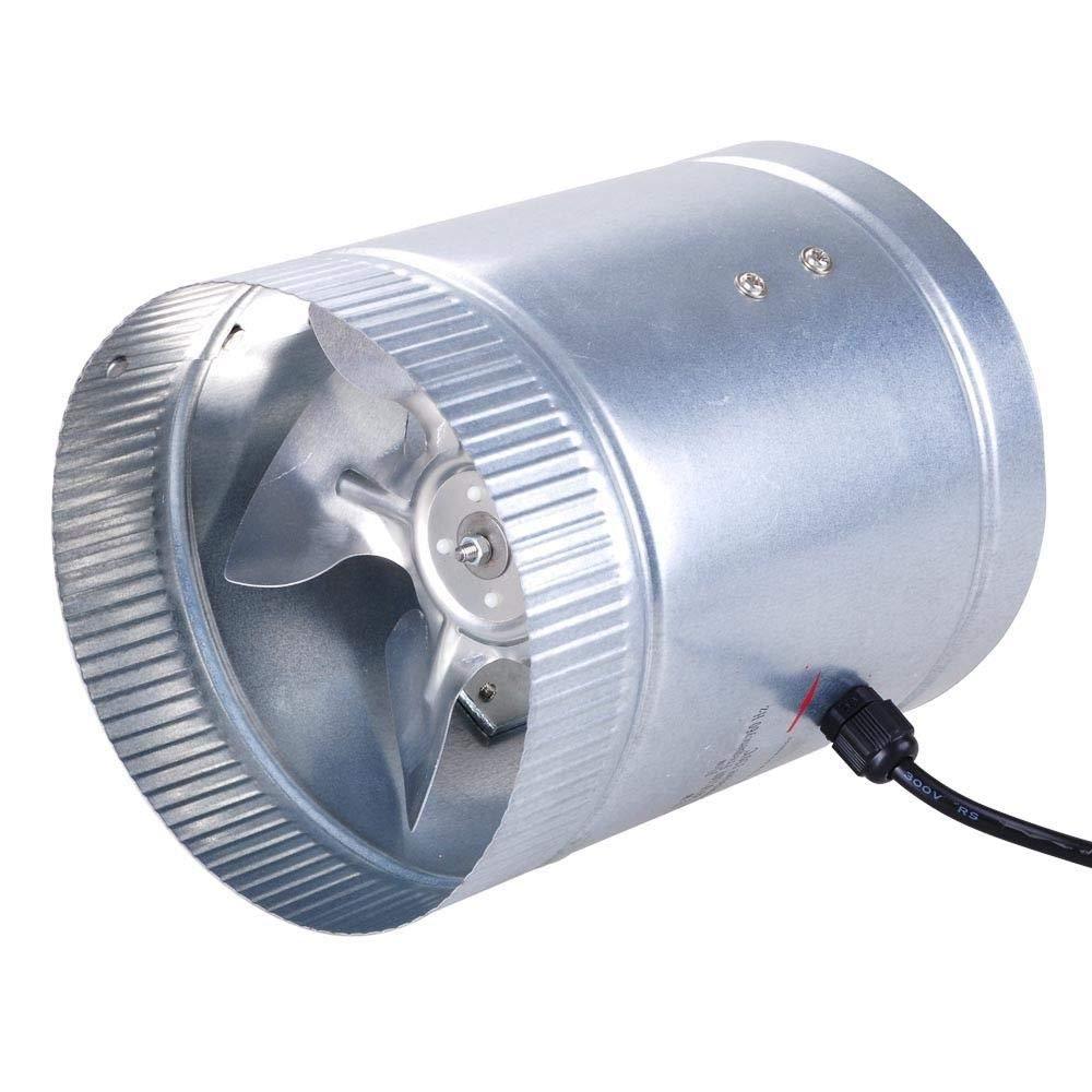 Light Weight Aluminum Fan Blades Inline Duct Booster Fan Cooling Exhaust Blower Home Grow Tent