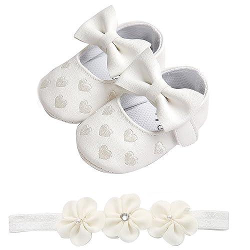 85e78d4b3 K-youth Zapatos Bebe Niña Primeros Pasos Zapatos Bebe Recien Nacida Zapatos  Bebe Niño Bautizo