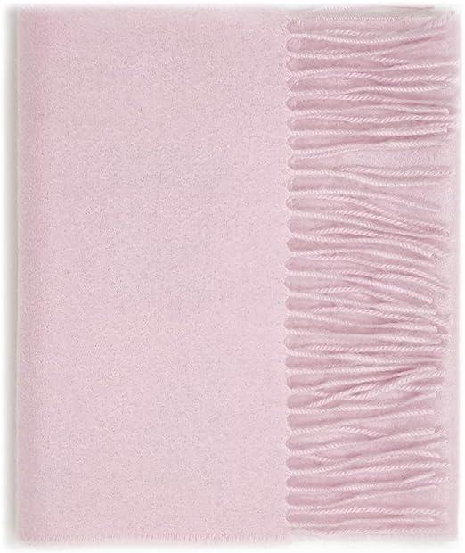 Men Women unisex 100/% CASHMERE Warm PLAIN Scarf pure solid Wool SCOTLAND Purple