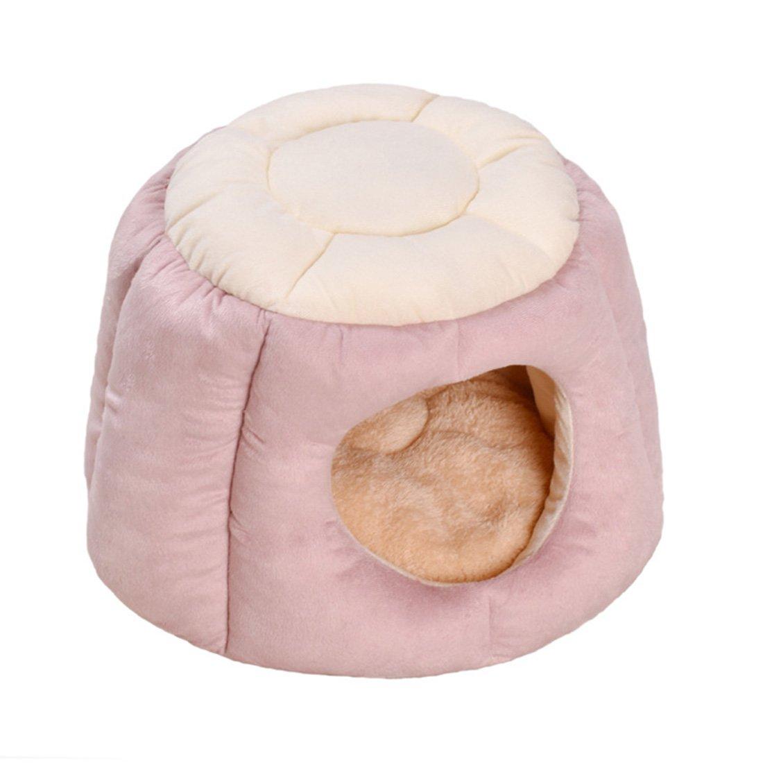 ... Lavable Cesta extraíble Premium Mascota cojín de Cama elástico Terciopelo caseta Gato Doble Uso Mascotas Fundas: Amazon.es: Productos para mascotas