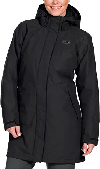 jack wolfskin outdoor mantel grau damen
