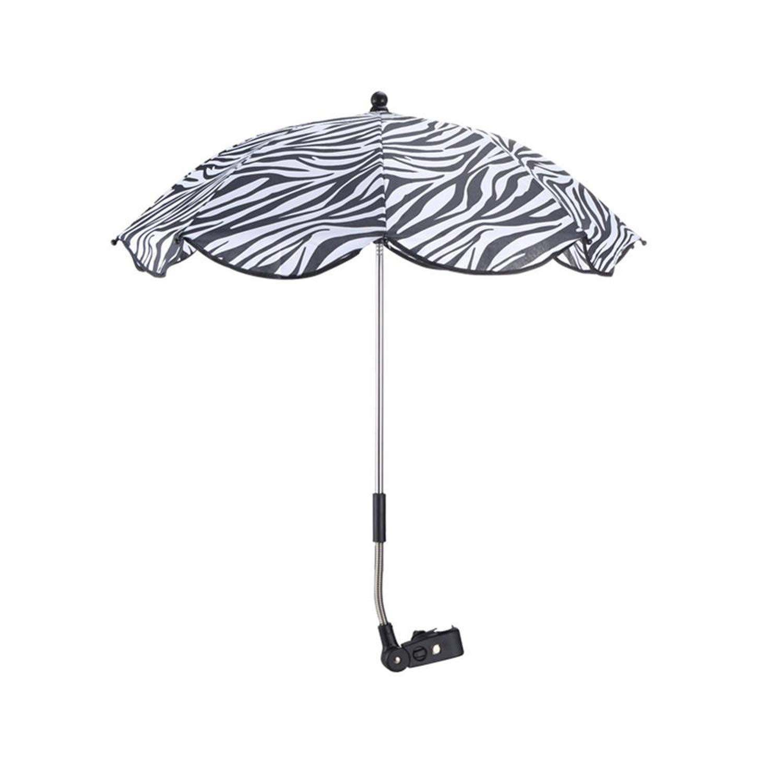 Parasol Buggy Pushchair Pram Shade Canopy Covers Baby Accessory Sun Protection Umbrella,Zebra