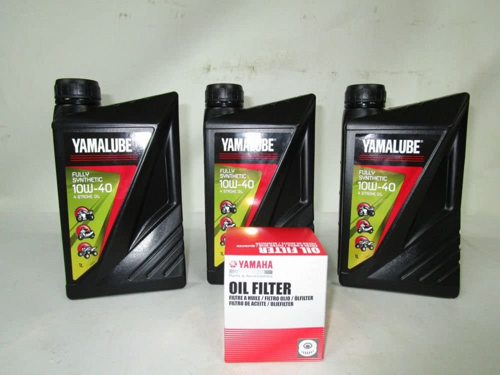 Kit Tagliando Yamalube y filtro aceite para Yamaha T-Max 500 530 ...