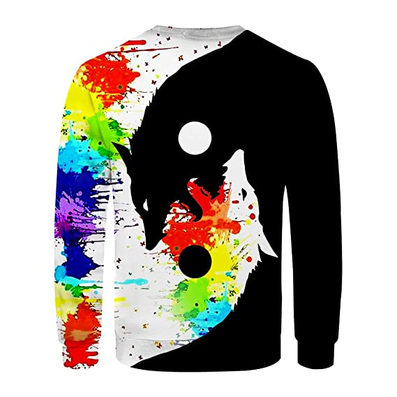 Clothful Clearance, Men's New Style Fashion T Shirt With 3D