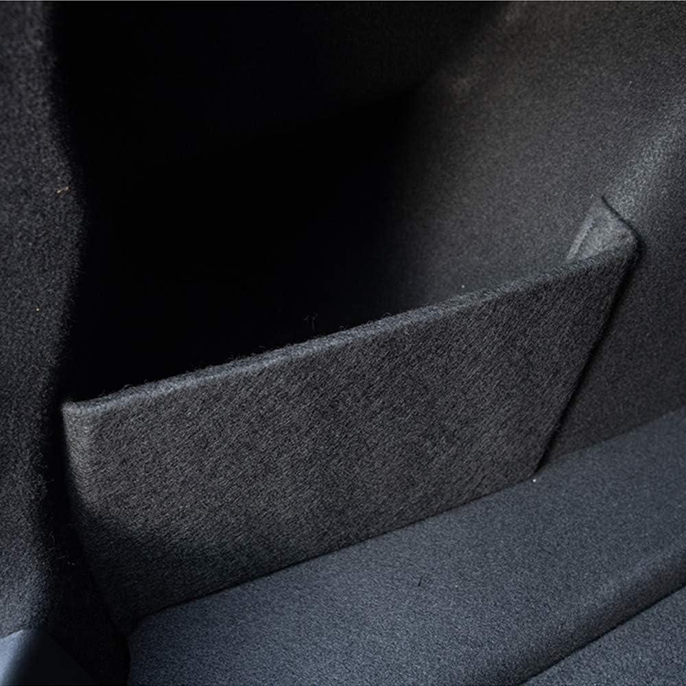 BASENOR Tesla Model 3 Rear Trunk Organizer Side Divider Accessories