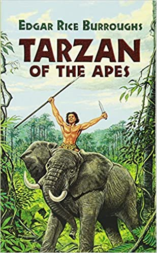 Image result for tarzan of the apes book cover