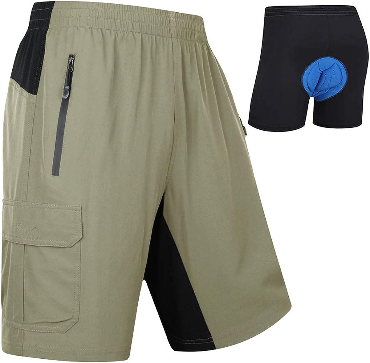 Cycling Underwear Men Mountain Bike Briefs Downhill Padded Cycling Shorts Men
