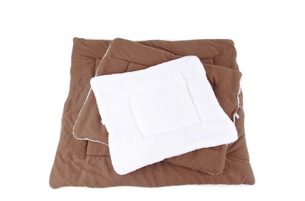 super-bab mascotas colchón cama mantas perro de la perrera esteras cojín almohadillas pequeñas y medianas de mascota Perro de la perrera Mat cálido ...