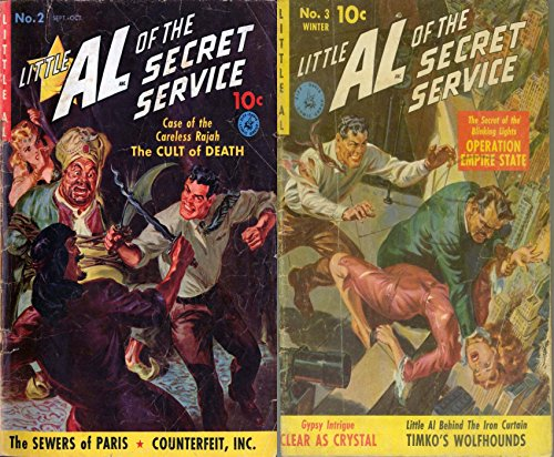 Little Al of the secret service. Issues 2 and 3. Features the sewers of Paris, counterfei inc, operation empire state, timko's wolfhounds and clear as a crystal. Crime, Justice and Law (Bond Sewer)
