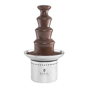 Royal Catering Fuente de chocolate eléctrica Cascada RCCF-230W (4 niveles, 6 kg, 230 W, Acero inoxidable): Amazon.es: Hogar