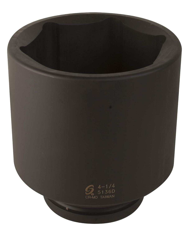 Sunex 5136D 1-Inch Drive 4-1//4-Inch Deep Impact Socket Sunex International