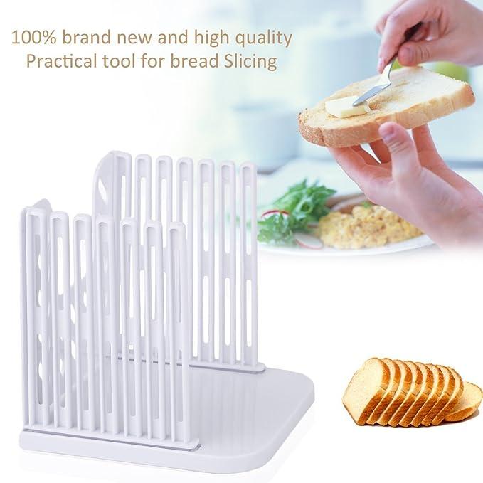 Compra Ouken Herramientas de Cortar Pan Pan Cortador de Pan de Molde Herramienta de Corte de la máquina de Cortar Pan Tostado Sandwich en Amazon.es