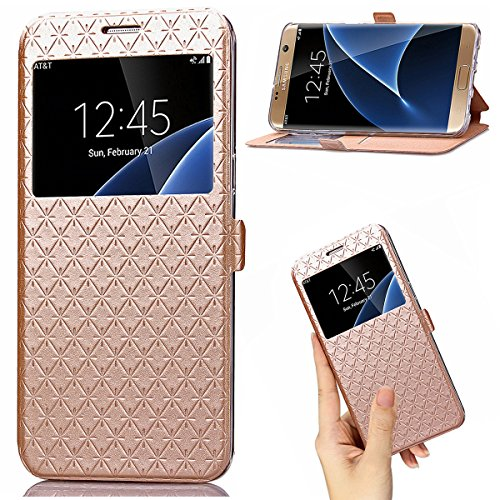 Slim Shockproof Case for Samsung Galaxy On7 (Gold) - 9