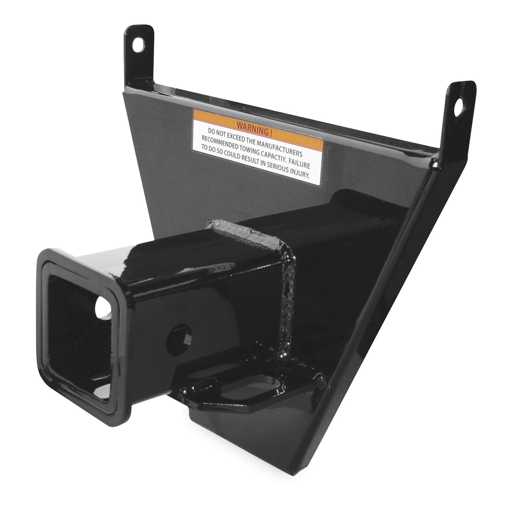Quadboss 06-16 Honda RINCON680 Trailer Hitch Receiver (Rear) by Quadboss