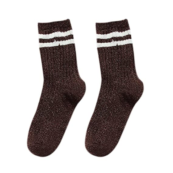 BHYDRY Otoño e invierno. Tendencia de engrosamiento. Calcetines calientes.: Amazon.es: Ropa y accesorios