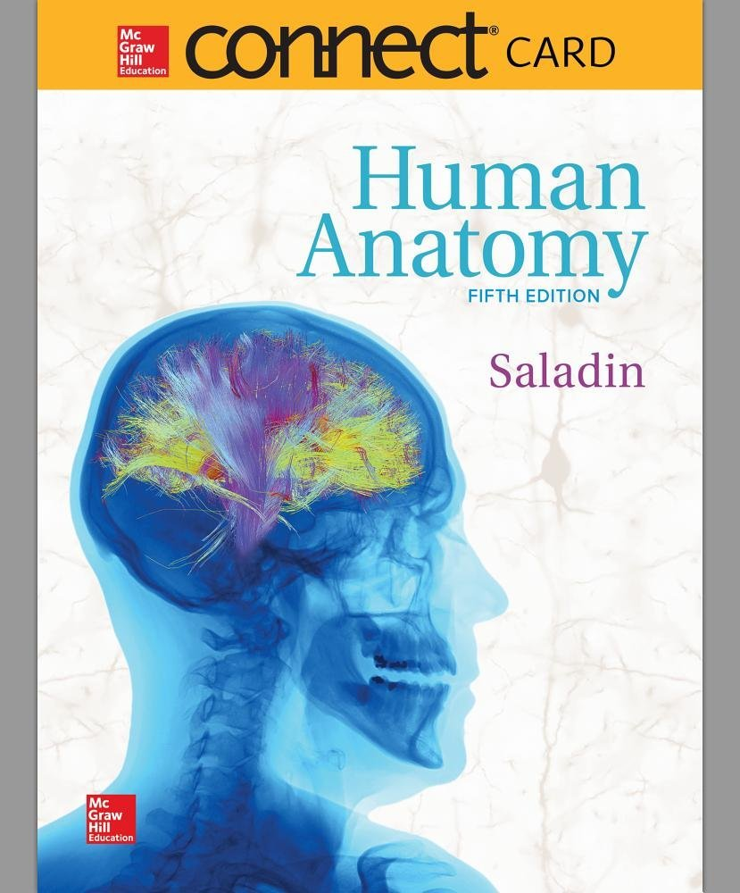 Human Anatomy McGraw-Hill Connect Access Code: Kenneth Saladin ...