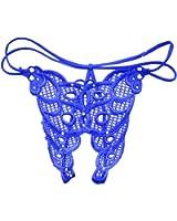 Mujeres Hollow Bandage G String Abercencia Tangas Bajo Cintura Bragas Ropa interior