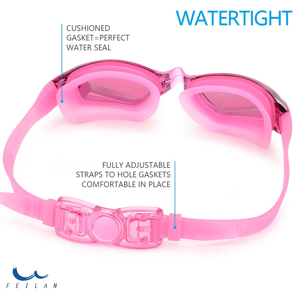 86b8e5d091 Gafas de natación,Gafas para Nadar Antiempañado y Anti Rayos UV Para  Hombres Mujeres Adultos Ampliar imagen