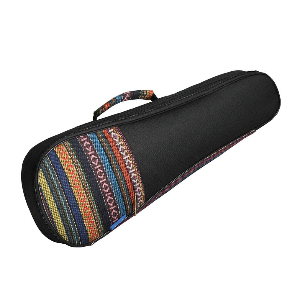 Estuche para ukelele Music First estilo /«azteca/» vintage de algod/ón