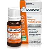 Gerber Gentle Baby Everyday Probiotic Drops for Newborn, Infants, Baby & Toddlers, Digestive Health & Immune System, Clinically proven, 0.34 Fl Oz