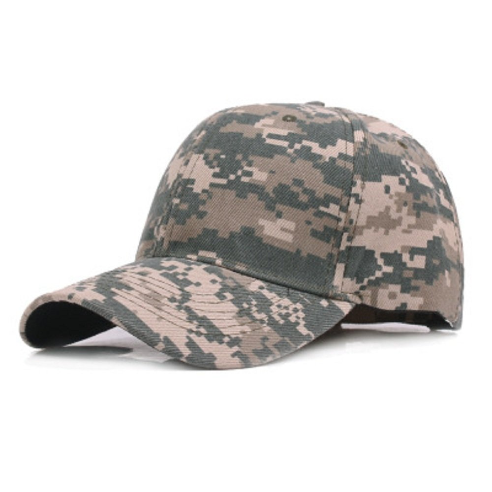 iTemer Unisex Baseball Cap Camouflage Hat Outdoor Mountaineering Hat Travel Sun Hat Suitable for Spring and Autumn Camuflaje Verde
