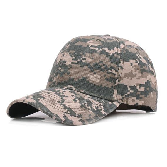 WeiMay Camuflaje Gorra de béisbol cadete ejército Gorras Lavado algodón  ejército Militar Capo Camuflaje  Amazon.es  Ropa y accesorios 70173d78938