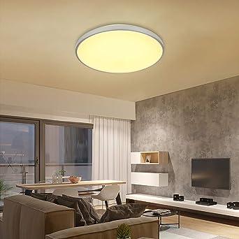 VINGO® 50W LED Deckenleuchte warmweiß Wohnzimmerlampe ...