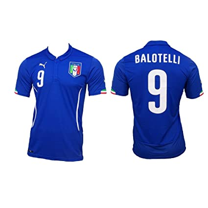Image Unavailable. Image not available for. Color  Puma Men Puma FIGC Balotelli  Home Shirt ... ad8c8e726