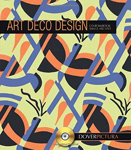 Art Deco Design (Dover Pictura Electronic Clip Art)