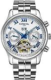 Carnival Retro Roman Applique Complications Calendar Analog Automatic Mechanical Movement Watches for Men