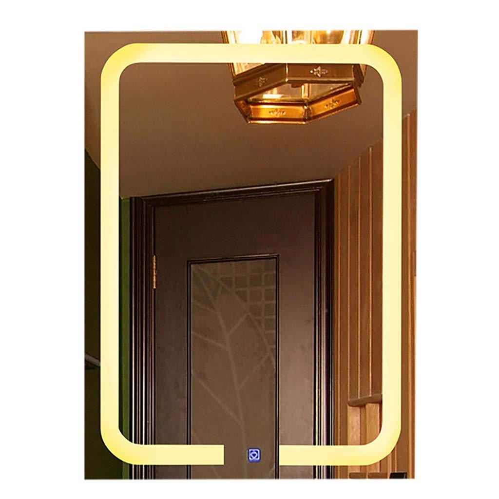 2019年激安 ウォールマウントされたライト付きバニティミラー、LEDライト付きミラー美しいバニティミラーライト付きメイクアップミラーは、メイクアップに優れています Vertical B07L74GTK4 Warm Warm light B07L74GTK4 Vertical, 大和高田市:cdf3ef56 --- arianechie.dominiotemporario.com