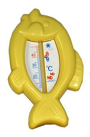 hosaire baño termómetro, el juguete del niño Baño Flotador, Amarillo: Amazon.es: Bricolaje y herramientas