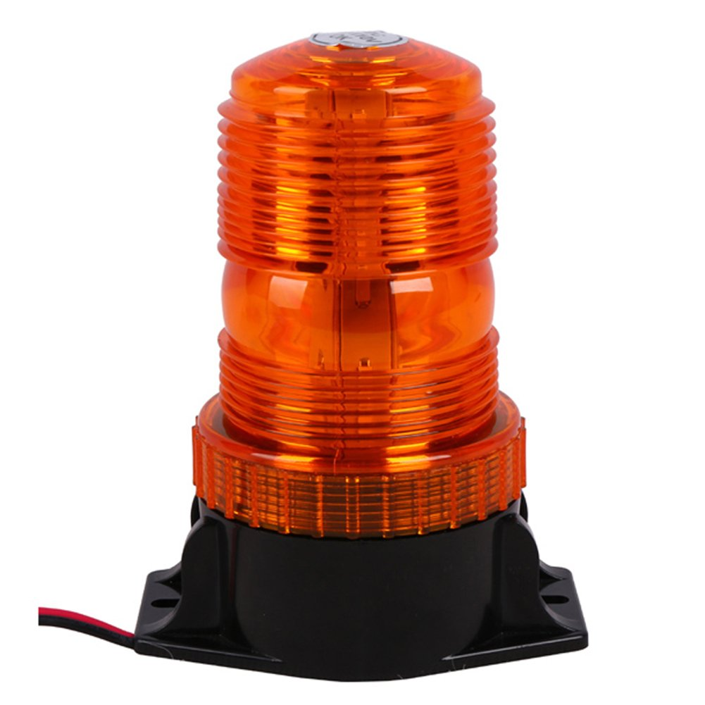 Amber High Profile 30pcs Led Forklift Warning Lamp,10-110 - DC Wide Pressure Rotating With Signal Forklift Accessories