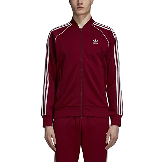 Men Burgundy Clothing Polyester | adidas UK