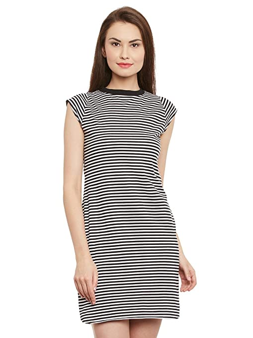 Miss Chase Women's Shift Mini Dress