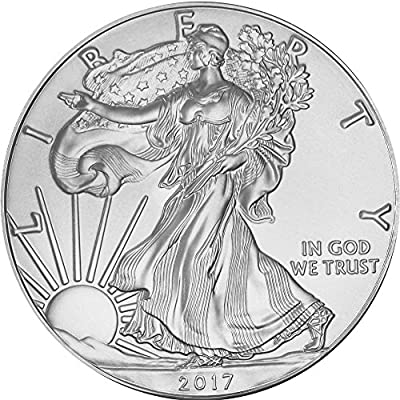 2017 American Silver Eagle American Silver Eagle $1 Brilliant Uncirculated US Mint