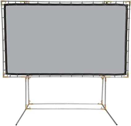 4:3 Gain 1.1 6.75x9 Carl's FlexiWhite White Projector Screen w//Edge
