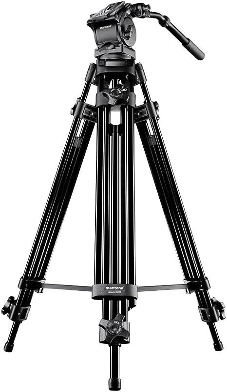 Mantona 18639 Dolomit 2300 - Trípode para cámara réflex o ...