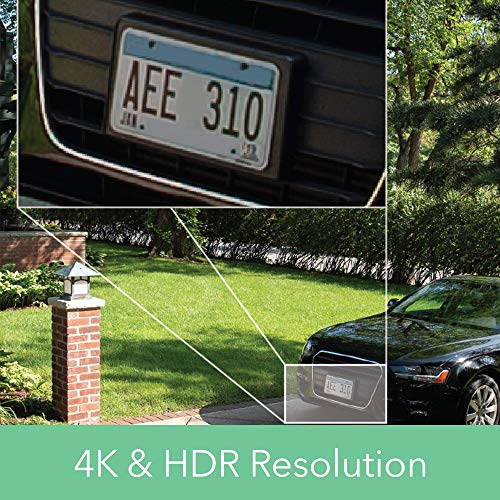 Arlo Ultra 4K UHD & HDR - 5 Wire-Free Indoor/Outdoor Security Cameras with Color Night Vision, 180° View, 2-way Audio, Spotlight, Siren, Works with Alexa by Arlo Technologies, Inc.