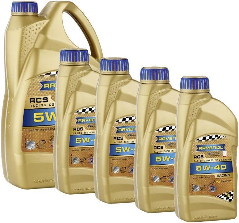 9 Liter Ravenol Rcs Racing Competition Synto Sae 5w 40 Motoröl Auto