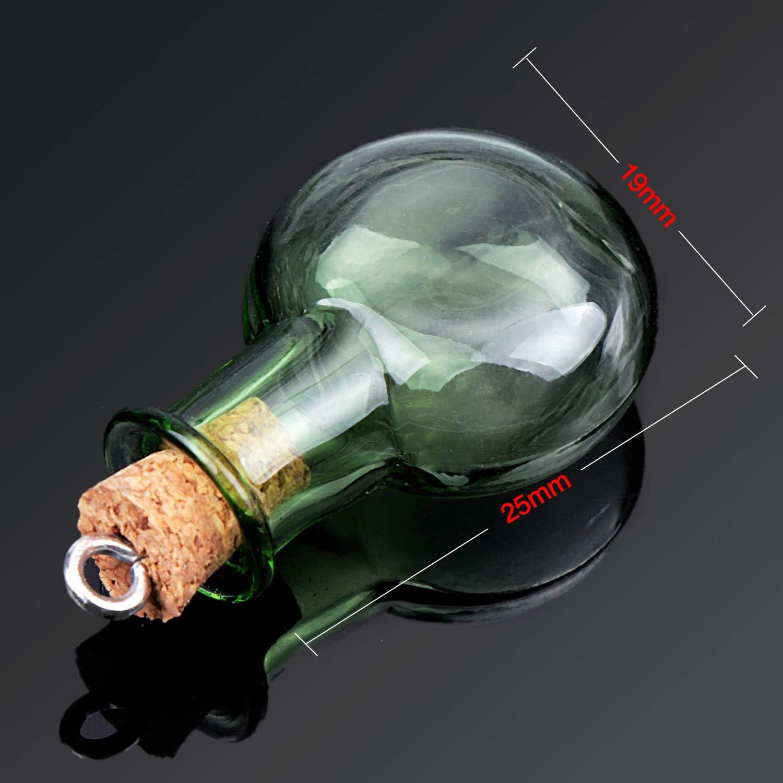dorado 6//10 piezas licor simplemente coloque su propio aceite 6 unidades Botellas de cristal vac/ías tama/ño mini volumen de llenado de 20 ml para botellas de muestra Hocz color de la tapa dorado