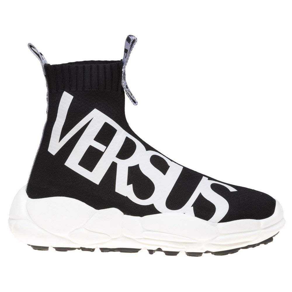 Versace Jeans Anatomia Sock Schwarz Herren Sneaker Schwarz Sock Schwarz 945c1e