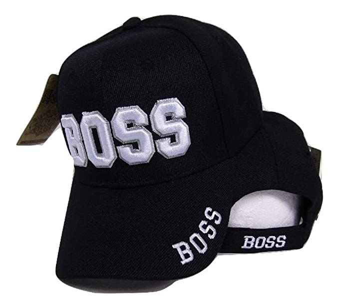 53b147bd604cb Image Unavailable. Image not available for. Color  Moon Boss Black with  White Letters Embroidered Baseball Cap Dad Hat (RAM) Premium Quality