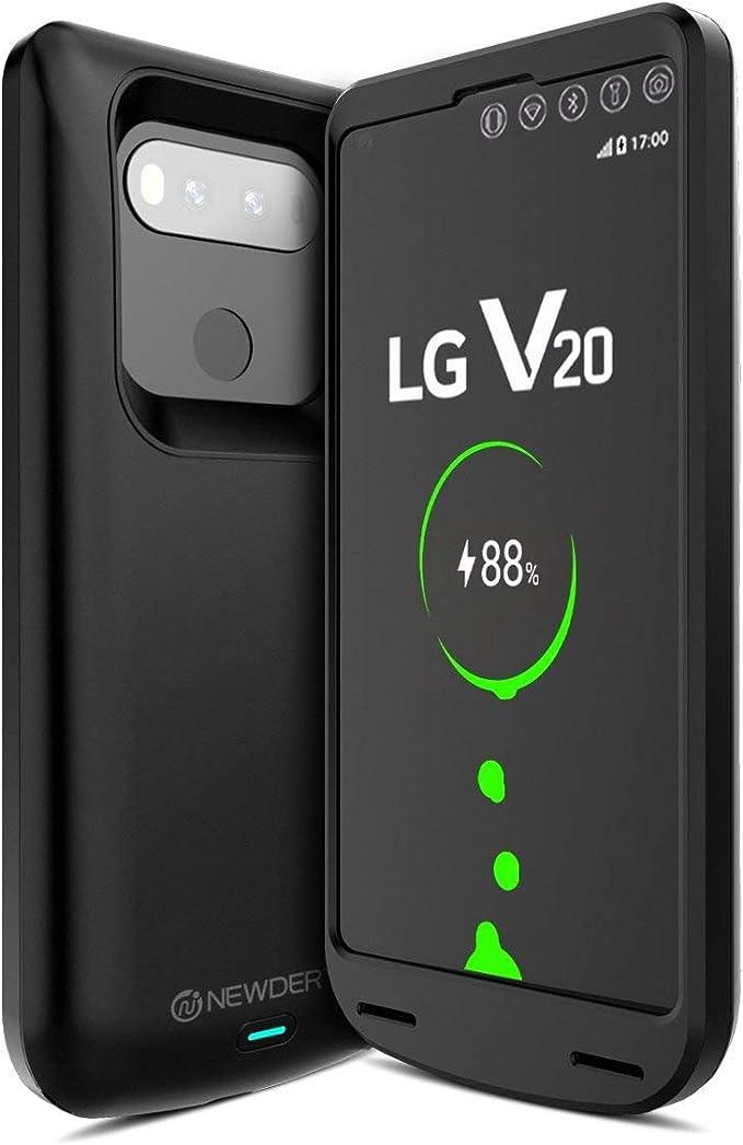 Newdery Funda Bateria LG V20, 5000Ah Carcasa Bateria, External ...
