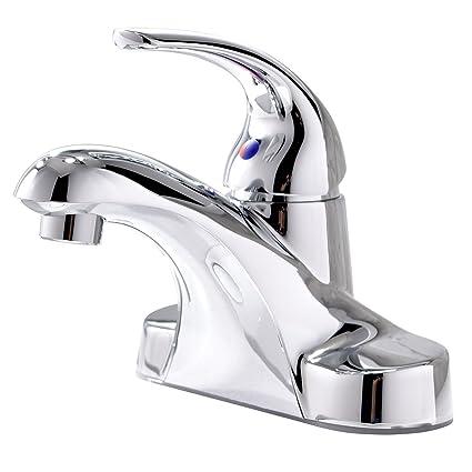 3f98e14071c VPASINT Modern Design Single Handle Chrome Finish Stainless Steel One Hole  Centerset Bathroom Faucets, Lavatory