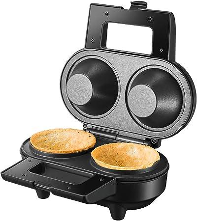Unold 48315 2waffle 550W Nero Acciaio inossidabile piastra per waffle