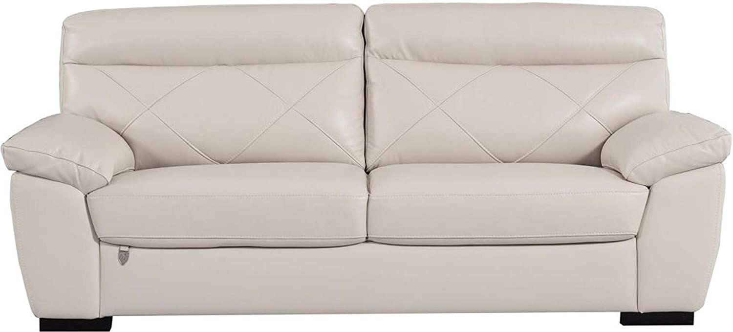 Amazon.com: Benjara BM194556 Leatherette Upholstered Sofa ...